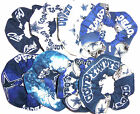 Dallas Cowboys Hair Scrunchies by Sherry Navy White Glow Camo Fabric Ties NFL