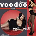 Voodoo Womens Voluptuous Shine Plus Size 18 20 22 24 Sheer Stockings Pantyhose