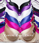 6 BRAS BR9072PDD LOT 34DD 36DD 38DD 40DD 42DD 44DD UNLINED PLAIN CUP