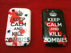Keep Calm And Kill Zombies For BlackBerry Curve 8520 8530 9300 Hard Case Cover
