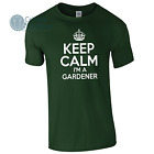 KEEP CALM I'LL CUT YOUR LAWN CALL: YOUR No. GARDENER Business Funny T-Shirt