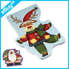 NEW CHILDRENS CHRISTMAS NOTE PAD - SANTA CLAUS / REINDEER - STOCKING FILLER GIFT