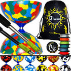Jester Diabolos: Creat Your Own Diabolo Set- Add Diablo Sticks, String +FREE Bag