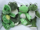 Cuddly green furry friend collection. Build a bear clothes fit