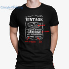 Mens PERSONALISED Birthday T-Shirt FUNNY ** ANY YEAR **