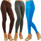 Women Full-Length Seamless Ultra Stretch YOGA TIGHT SOLID