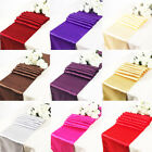 1 Satin Table Runners Sashes Cloth Chair Cover Wedding Event Hessian Sequin