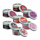Scandal Candle - Soy Massage Oil Candles with Pheromones  - Choice of 7 Scents