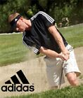 Adidas Golf Men's ClimaLite 3-Stripes T-shirt  5 colors A72 NEW