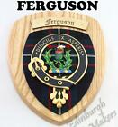 FERGUSON CLAN CREST WALL PLAQUE PLAQUES AVAILABLE IN ANY CLAN NAME