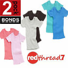 Bonds Baby 2 Pack Tee T Shirt Top Cotton Girl Boy Kids Size 0000 000 00 0 1 2