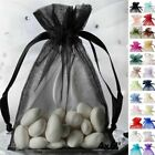 "100 pcs 4""x6"" ORGANZA BAGS - Wedding FAVORS Drawstring Gift Pouch Decorations"