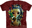 NEW JAMMIN ALIEN Smoking Rasta Dreadlocks The Mountain T Shirt Adult Sizes