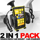 CAR HOLDER + CAR CHARGER FOR VARIOUS NOKIA MODELS