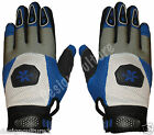 Blue & White Off Road Motocross MX Enduro Quad Dirt Bike Cycling Racing Gloves