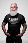 IF ASSHOLES COULD FLY Funny Mens T-Shirts Rude Humour offensive t-shirt
