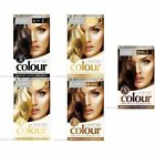 Glamorize Permanent Hair Dye Colourant Creme Colour Blonde Brown Mahogany Black