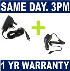 MAINS & CAR CHARGER FOR VARIOUS HTC MODELS