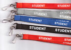 1 x 'STUDENT' Neck Strap Safety Lanyard - 3 Colours Available: FREE UK P&P