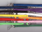 25 x 10mm Breakaway Safety Neck Strap Lanyards -11 Colours Available FREE UK P&P