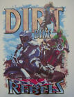 DIXIE DIRT BIKE REBELS RACING REDNECK REBEL SOUTHERN SHIRT #361