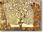 HUGE Klimt Tree of Life Full Image Stretched Canvas Giclee Repro Print ALL SIZES