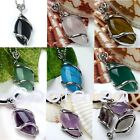 U Pick Various Natural Gemstone Maquise Bead Pendant For Necklace 1pc