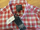 BNWT FIRETRAP VIRAL CASUAL CHECK LONG SLEEVE SHIRT LARGE XXL RRP £60.00 COTTON