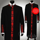Clergy Robe Cadillac Black Red All Sizes Cassock Royalty Cross Embroidery