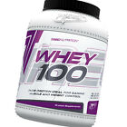 Whey 100 600g - Best 100% whey protein concentrate for building muscles - Trec