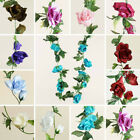 48 feet Silk Goodly Rose Garlands Wedding Decorations Wholesale Cheap Supplies