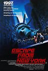 """ESCAPE FROM NEW YORK"" ...Kurt Russell.. Classic Movie Poster A1 A2 A3 A4Sizes"