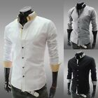 New Men's Classy Casual Dress Shirt Long Sleeve Shirts Collection