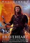 """BRAVEHEART"" ...Mel Gibson ...Modern Classic Movie Poster A1 A2 A3 A4Sizes"