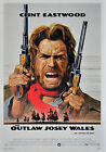 """THE OUTLAW JOSEY WALES""..Clint Eastwood Classic Movie Poster A1 A2 A3 A4 Sizes"