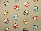 Natural Linen Look Cotton Fabric - Curtain Upholstery Blinds Quilting Multi Use