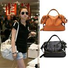 Fashion Korean Hobo PU Faux Leather Tassel Handbag Shoulder Bag Large Capacity
