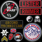 RED DWARF - Series Crew Uniform / Costume / Jacket Patches & Accessories - NEW