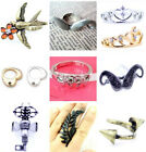 Lovely crystal crown ring with crystal, multiple choices