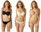 Panache Cleo Juna Balconnet Balcony Bra 6461 Black Ivory Cream or Nude Natural