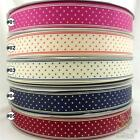 "5 metres mixed colors&sizes stars grosgrain ribbon 9/16/25/38mm 3/8"" 5/8""1""1.5"""