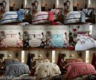 Kew Duvet Quilt Cover with Pillowcase Quilt Bedding Set - DOUBLE & KING