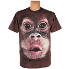 The Mountain T-Shirt Orang-Utan Big Face Animals Affenkopf 116 - XXL