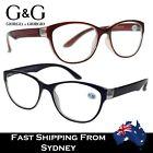 G&G Fashion Designed Round Retro Reading Glasses Small Head Petite +1.0~+3.5