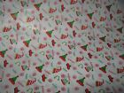 "Happy Holidays Hat Christmas Tissue Paper  -20"" x 30"" sheets - choice of 5 or 10"