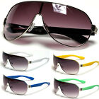Mens Premium Aviator Fashion Sunglasses UV400 NEW Black White Green Shades