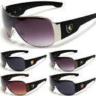 Oversized Mens Womens Designer Sunglasses Celebrity Shades Silver Black Brown