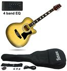 BRAND NEW  ELECTRO / ELECTRIC SEMI ACOUSTIC GUITAR PACKAGE right and left handed for sale