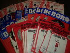 Middlesbrough HOME programmes early 1970's choose from list FREE UK P&P