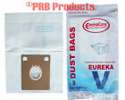 Eureka  576898 Style V Tank Vacuum Cleaner Single ply Bags Model Aero I II 52358